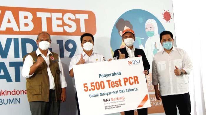 Gandeng Kementerian BUMN, JSK dan Pemda, BNI Gelar Tes SwabGratis untuk 30.000 Peserta