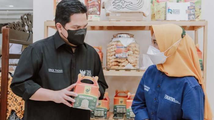 Menteri BUMN Apresiasi PLN yang Dukung 8 Ribu UMKM Hadapi Pandemi