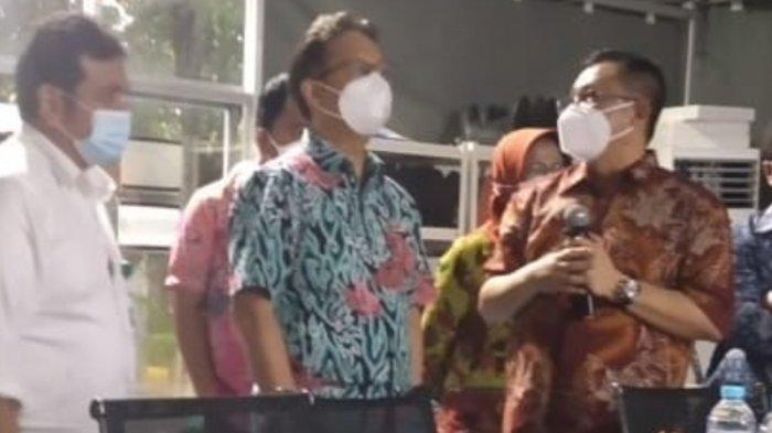 Reaksi Menkes Budi Gunadi Sadikin saat Kunjungi RS Lapangan Indrapura Surabaya