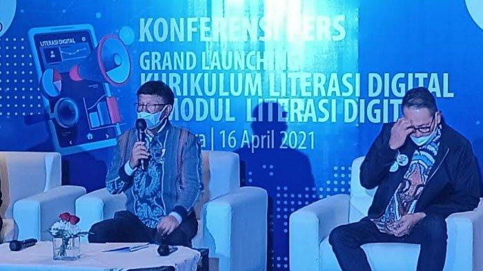 Di Kota Surabaya, Menkominfo Luncurkan Program Khusus Literasi Digital, Ini Harapannya