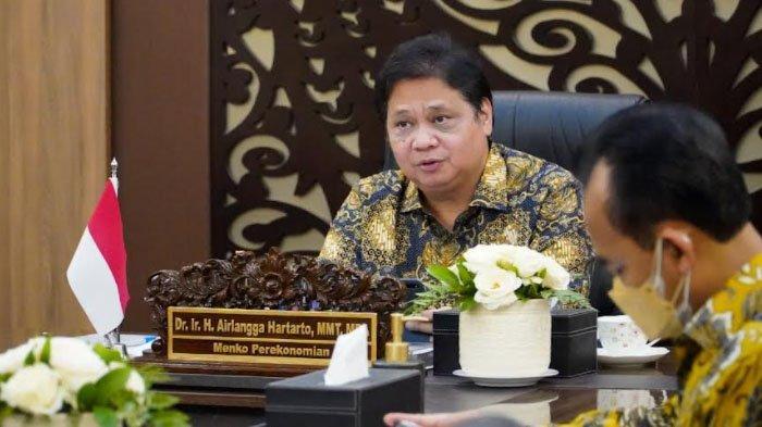 Menko Airlangga Hartarto : PPKM Luar Jawa-Bali, Tetap Waspada Meski Angka Kasus Terus Menurun