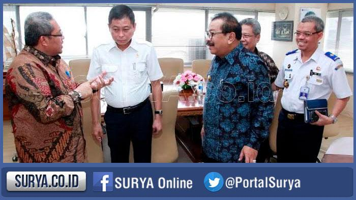 Surabaya sampai Madiun akan Dilintasi Jalur Double Track Kereta Api