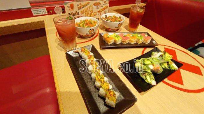 Menu Fresh Summer dari Genki Sushi turut meramaikan nuansa musim panas pada 2021
