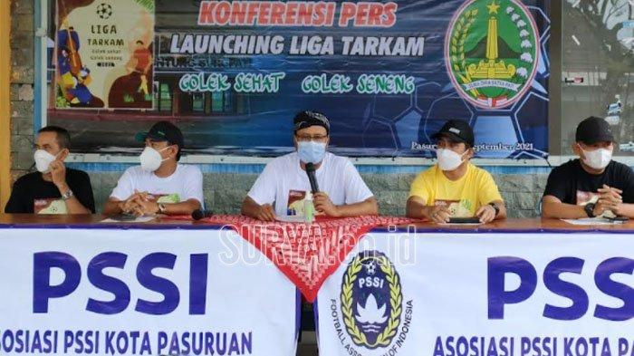 Cari Bibit Pemain Sepak Bola, Gelar Liga Tarkam Patuh Protokol Kesehatan di Kota Pasuruan