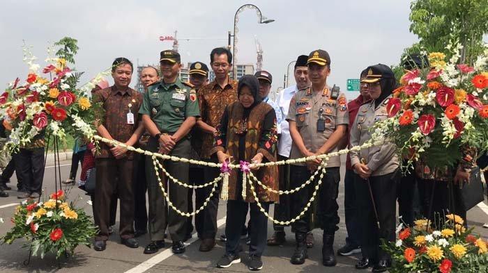Diresmikan Risma, MERR IIC Surabaya Kini Dapat Dilalui Kendaraan