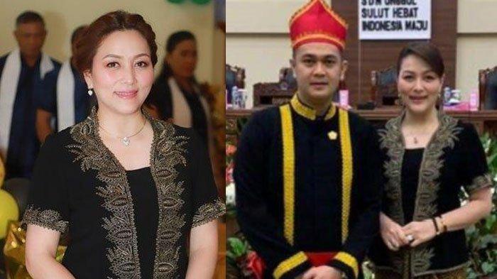 Michaela Paruntu, istri Wakil Ketua DPRD Sulut James Arthur Kojongian.