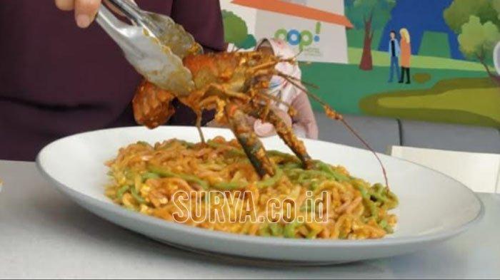 Mie Pelangi Lobster Ala Nedarumiyin Pop! Hotel Surabaya, Perpaduan Bumbu dan Rempah Bikin Ketagihan