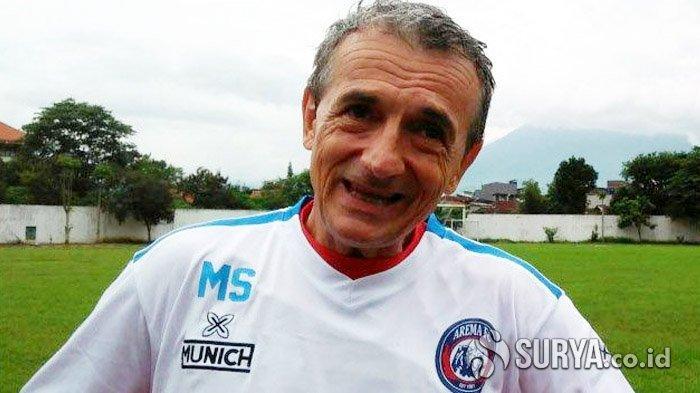 Eks Pelatih Arema FC, Milomir Selsija