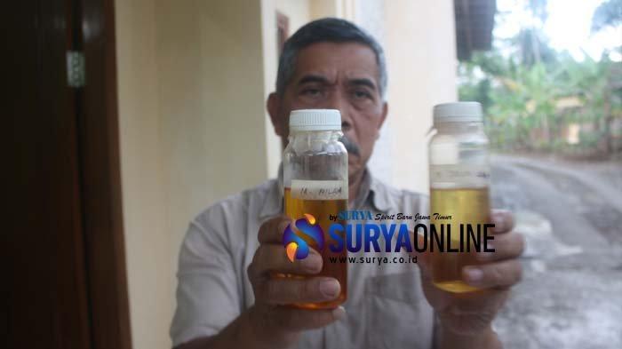 Potret Sutoyo, Warga Trenggalek, Sukses Kembangkan Perekonomian Warga Watulimo Lewat Minyak Atsiri