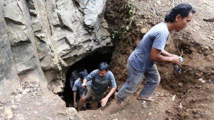 Misteri Lubang 200 Meter di Bogor Terungkap, Ada Danau Dalam Goa, Tali 5 Meter Belum Sentuh Dasar