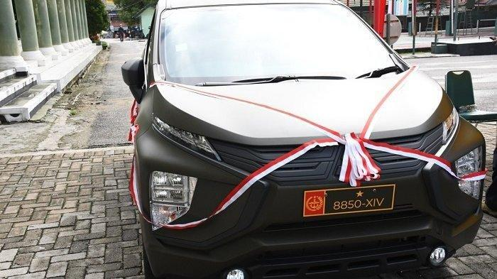 Hadiah Lebaran 2021 dari Jenderal Andika Perkasa, Pejabat Korem 143 Dapat Mitsubishi Xpander Sport