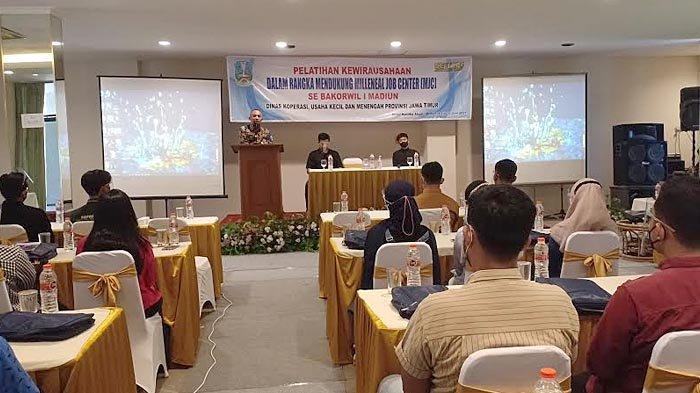Dukung Program MJC, Dinas Koperasi dan UMKM Provinsi Jatim Gelar Pelatihan Bagi Milenial di Madiun