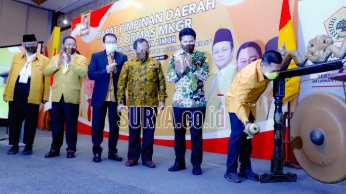 Pengurus Jatim Solid Dukung Adies Kadir Jadi Ketua Umum MKGR