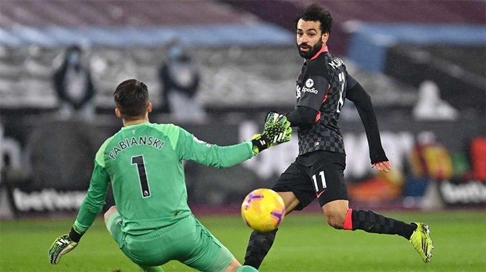Kloop Beri Pujian Setinggi Langit, Mo Salah Cetak 2 Gol ke Gawang West Ham, Super Cerdas