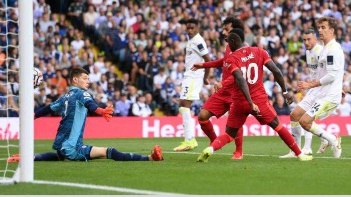 Hasil dan Klasemen Liga Inggris: Liverpool Taklukkan Leeds, The Reds Perketat Persaingan Papan Atas