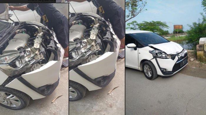 Toyota Sienta Milik Kepala Desa di Gresik Ditabrak KA, Miftahul Huda: Alarm di Perlintasan Mati