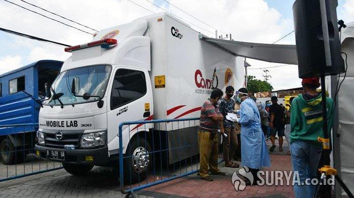 BIN Akan Kirim Lagi 1 Unit Mobil Laboratorium untuk Tes Swab Ke Surabaya