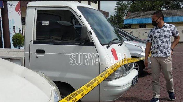 Komplotan Pencuri Pikap yang Ditangkap Polres Trenggalek Gasak 34 Kendaraan di 9 Kota