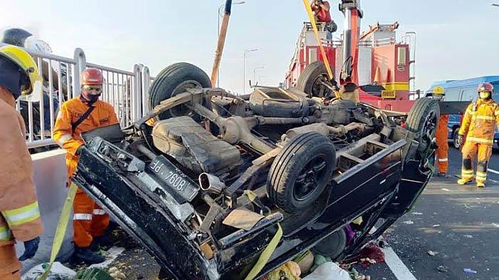 Kecelakaan Maut di Jembatan Suramadu, Satu Orang Meninggal di Tempat, Penabrak  Langsung Tancap Gas