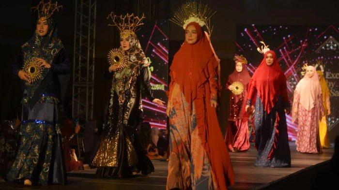 Cheerful nan Anggun Busana Syari Qaireena Luxury X Sarkis Exclusive, Terinspirasi Eknik Jepang