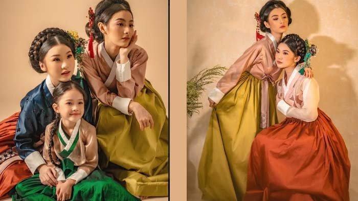 Tampil ala Perempuan Korea dengan Hanbok Modern 'Taste of Korea' Koleksi Nathania
