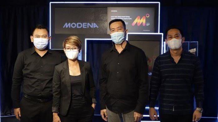 Modena Luncurkan Lima Produk Elektronik Berbasis IoT