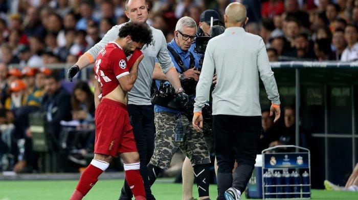 Tangis Mohamed Salah! Putuskan Tak Puasa Ramadhan Demi Liga Champions Malah Cedera