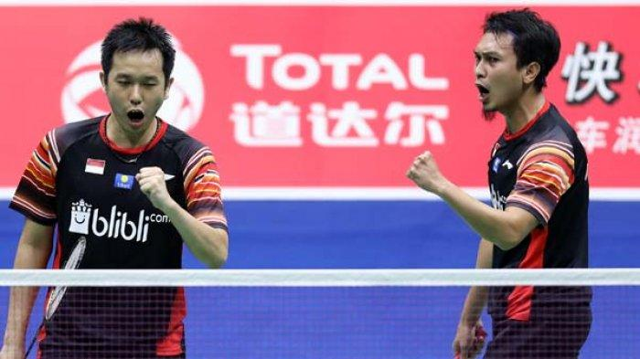 JADWAL PIALA SUDIRMAN 2019, Indonesia vs Taiwan! jika Menang Ahsan dkk vs Malaysia atau Jepang