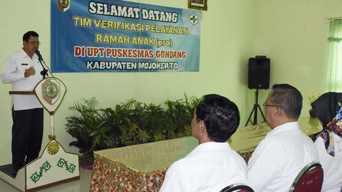 Verifikasi Lapangan PRA UPT Puskesmas Gondang Mojokerto; Harus Penuhi Prinsip Perlindungan Anak