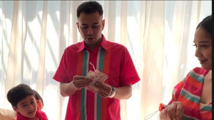 Jumlah THR dari Nagita Slavina Bikin Melongo, Keponakan Raffi Ahmad Kegirangan: Kok Banyak Banget?