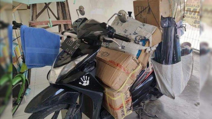 Kunci Tertinggal, Motor Beat Raib di Dukuh Kupang Kota Surabaya