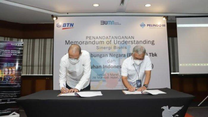 Gandeng BTN, Pelindo III Sediakan Layanan Transaksi Jasa Kepelabuhanan