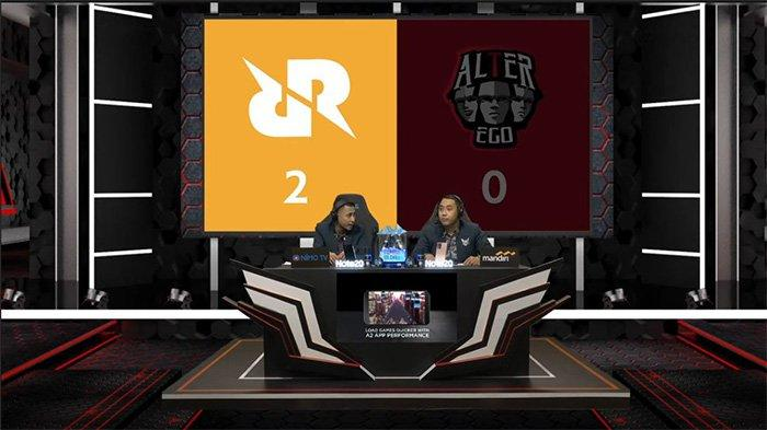 Hasil dan Klasemen MPL Season 6 Week 8 Day 1: RRQ Hoshi Libas Alter Ego, Amankan Posisi Dua