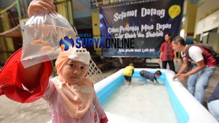 Galeri Foto Kegiatan MPLS Siswa Baru di SD Muhammadiyah 16 Surabaya