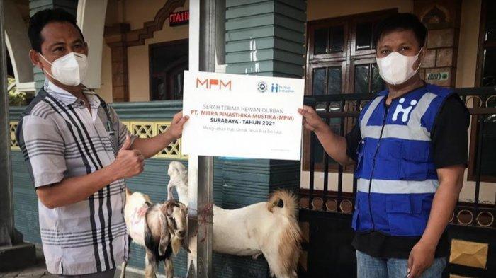 MPM Honda Jatim Distribusikan Hewan Kurban Idul Adha 2021