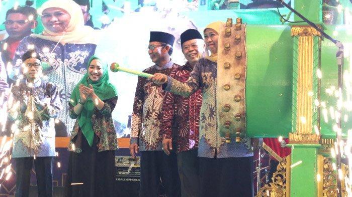 Pembukaan MTQ XXVIII Provinsi Jawa Timur Meriah:Khofifah Berharap Jatim Juara Umum MTQ Nasional