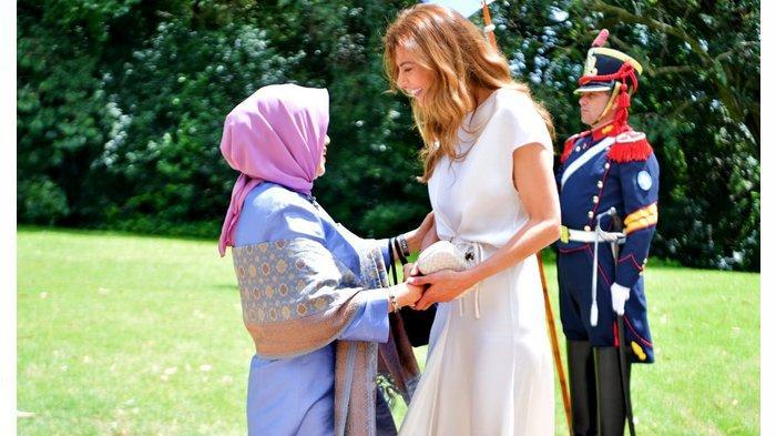 Mufidah Jusuf Kalla Hadiri Spouse Program G20 Summit Argentina