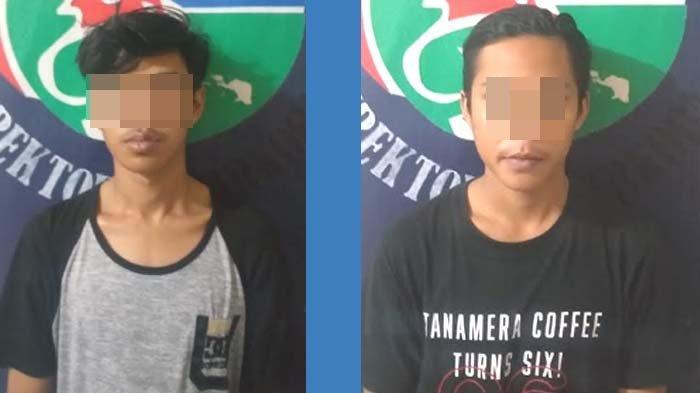 Dua Pria Lidah Wetan Surabaya Tepergok Polisi Simpan Sabu di Sandal, sejak 3 Bulan Jadi Pemakai