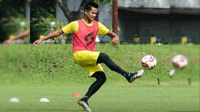 Pemain Anyar Arema FC Muhammad Roby : Tak Pasang Target Muluk
