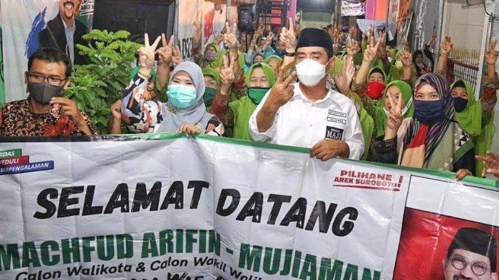 Ketua Fatayat NU Solid Ajak Warga Menangkan Machfud Arifin-Mujiaman di Pilwali Surabaya 2020