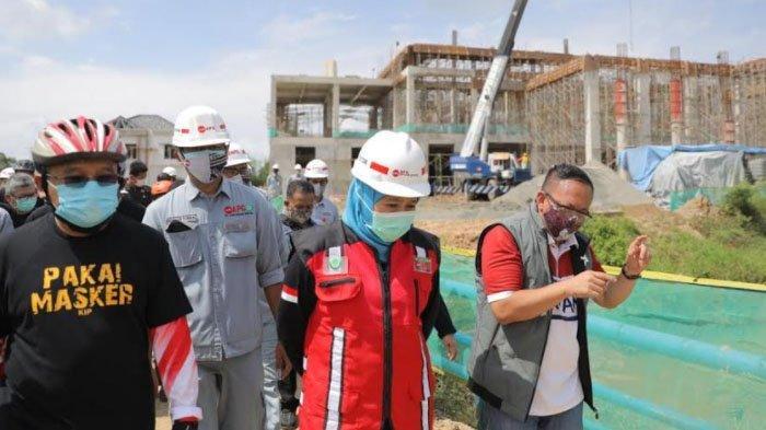 Khofifah Tinjau Pembangunan Museum dan Galeri SBY- Ani, Optimistis Jadi Pengungkit Pariwisata Jatim