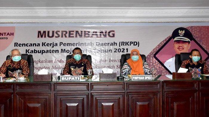 Musrenbang RKPD Kabupaten Mojokerto Tahun 2021, Bahas Refocusing Kegiatan dan Realokasi Anggaran