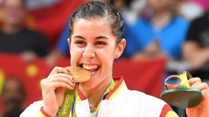 Alasan Carolina Marin Akan Absen di Malaysia Open 2021