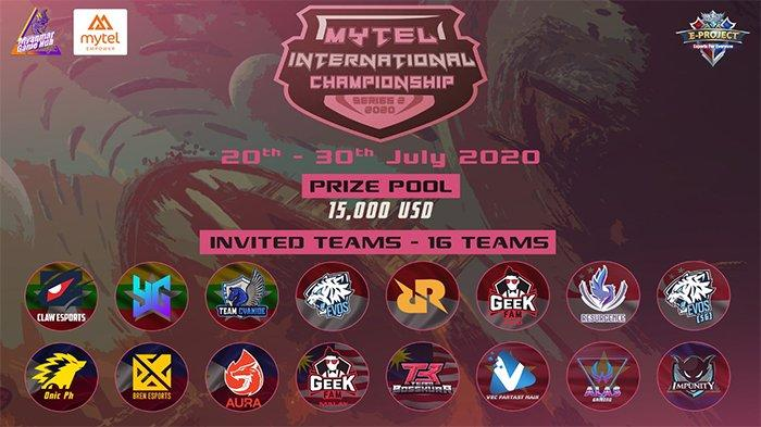 Link Live Streaming Mytel International Championship: RRQ vs Impunity KH, Evos Legends vs Bren