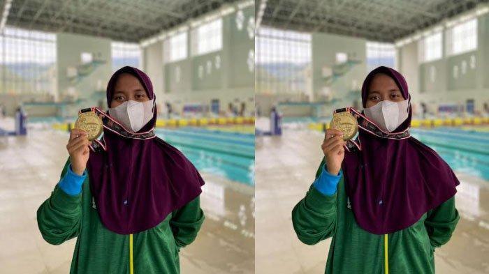 Sosok Nafa Amadea, Atlet Selam Asal Kota Batu Peraih Medali Emas PON XX Papua 2021