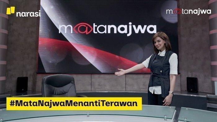 Video Najwa Shihab Angkat Kertas Bertuliskan