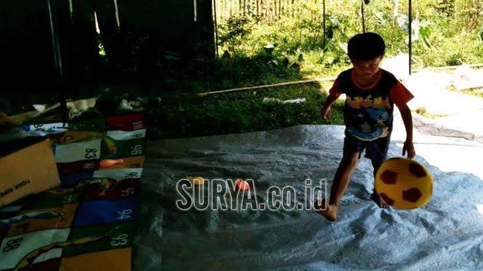 Anak-anak di Lokasi Terdampak Gempa Bumi Kabupaten Malang Masih Rasakan Trauma