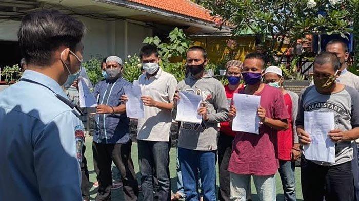 18 Napi Rutan Kelas I Surabaya Dapat Asimilasi Jelang Idul Fitri 1442 H, Dua Orang Bebas Murni