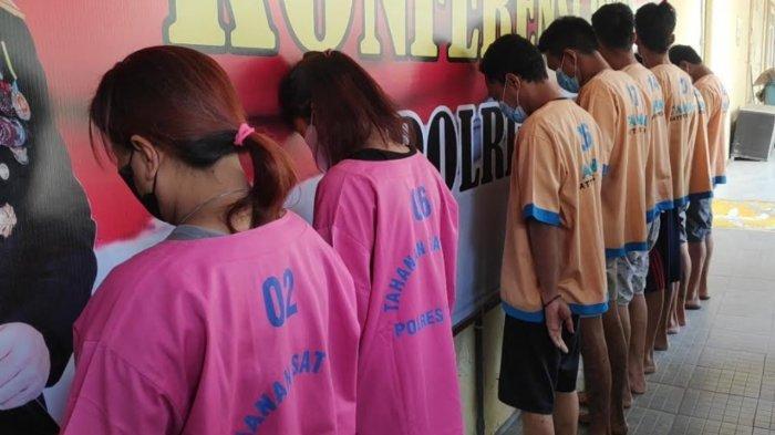 2 Pasutri Jadi Pengedar Sabu di Tuban, 2 Tahun Transaksi Barang Haram