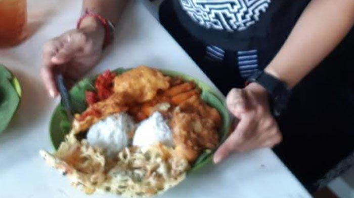 Nasi Jamblang khas Cirebon